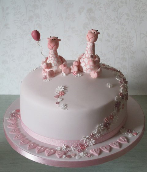 Christening Cake Designs For Twins : Christening and Confirmation Gallery   Porsham Cake Maker ...