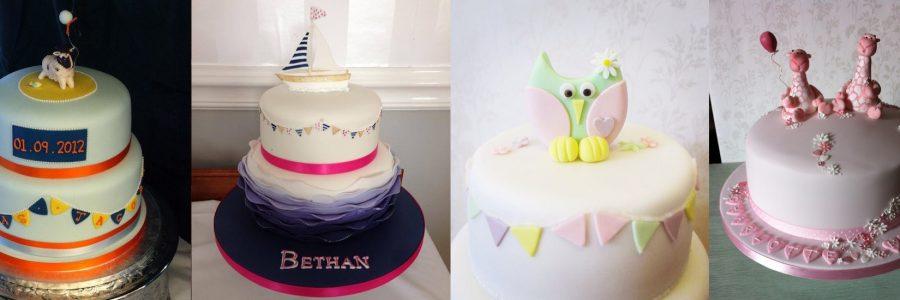 Christening Cakes in Devon