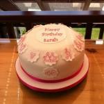 40th life story birthday cake