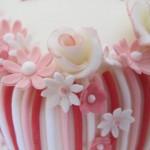 Candy stripe detail