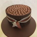 Chocolate malteaser cake devon