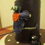 Clumsy witch cake
