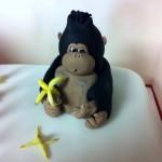 Gorilla cake detail