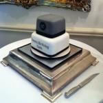 Moorland garden birthday cake