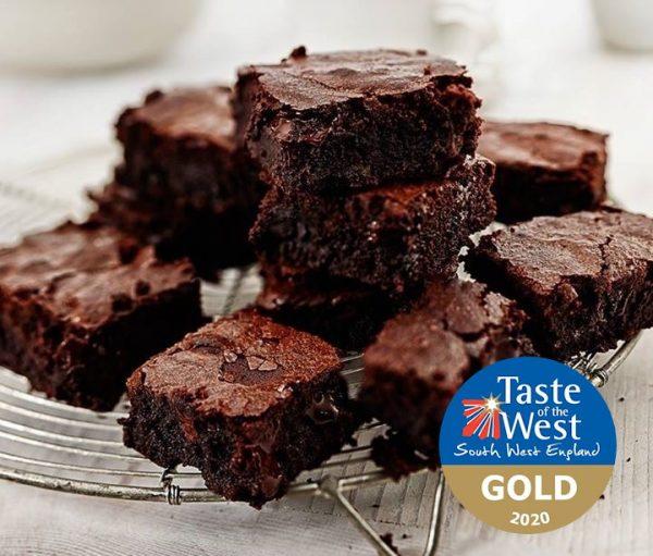 Award winning chocolate brownies